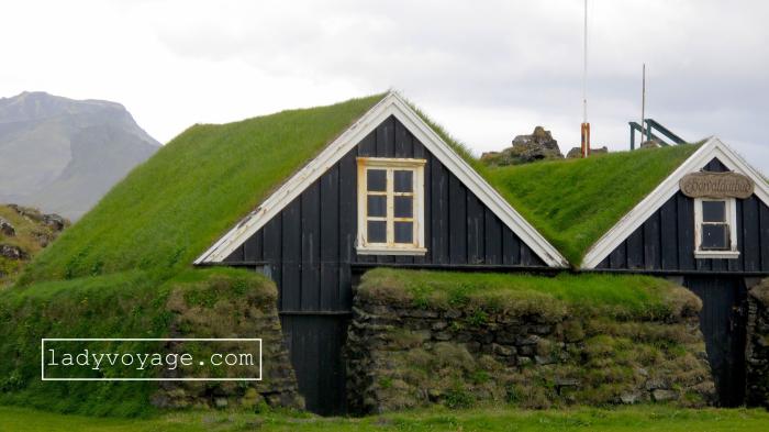 Turf house found on our way to Snæfellsnes peninsula, Iceland
