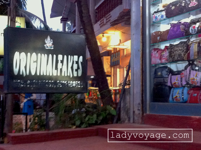 One of the most original names given for the shop I've ever seen. Baga, Goa, India